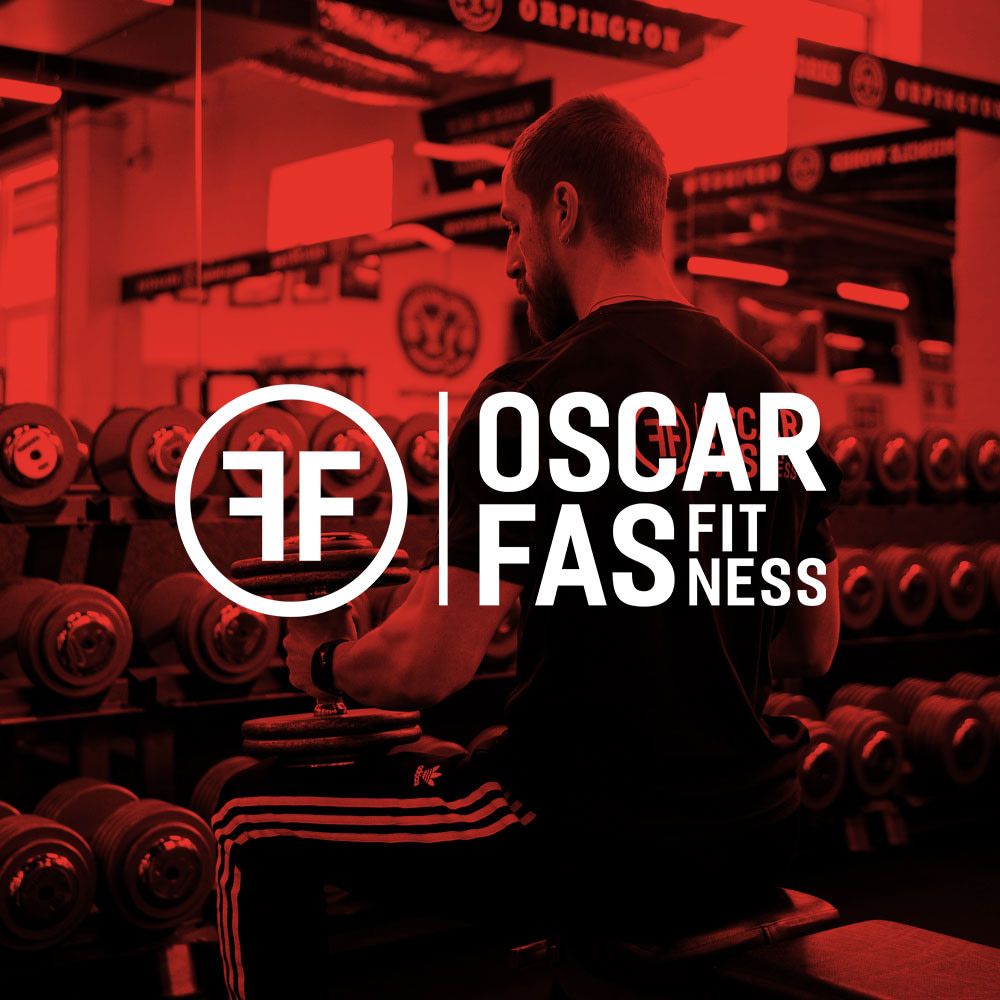 OSCAR FAS FITNESS PERSONAL TRAINER FEATURED DUO TONE