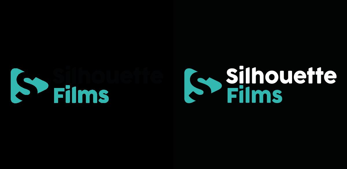 Silouhette Films brand identity secondary logo