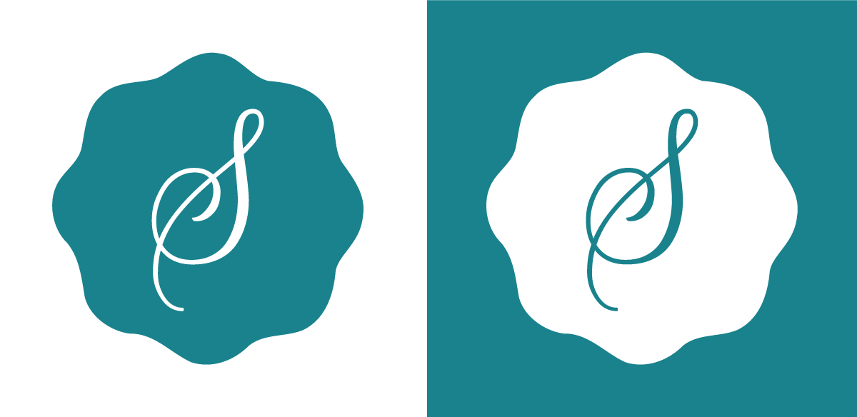 skys house of flowers logo icon design