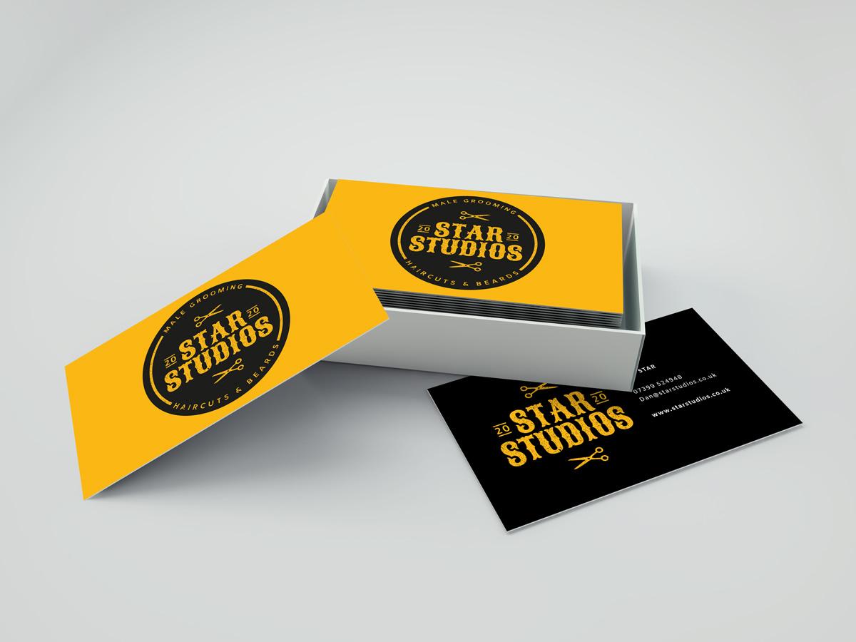 star studios Business Cards Mockup Vol.19