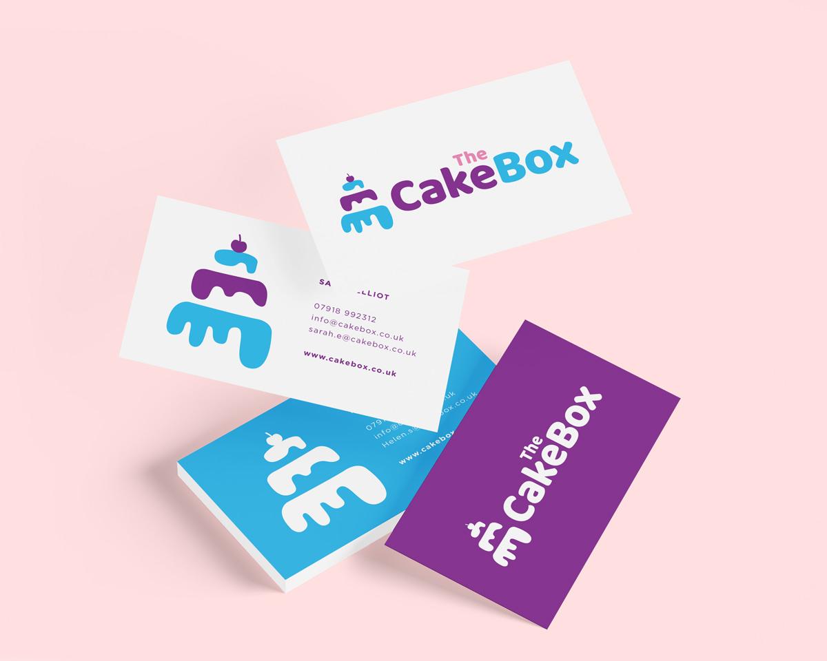 cake box business card mockup2