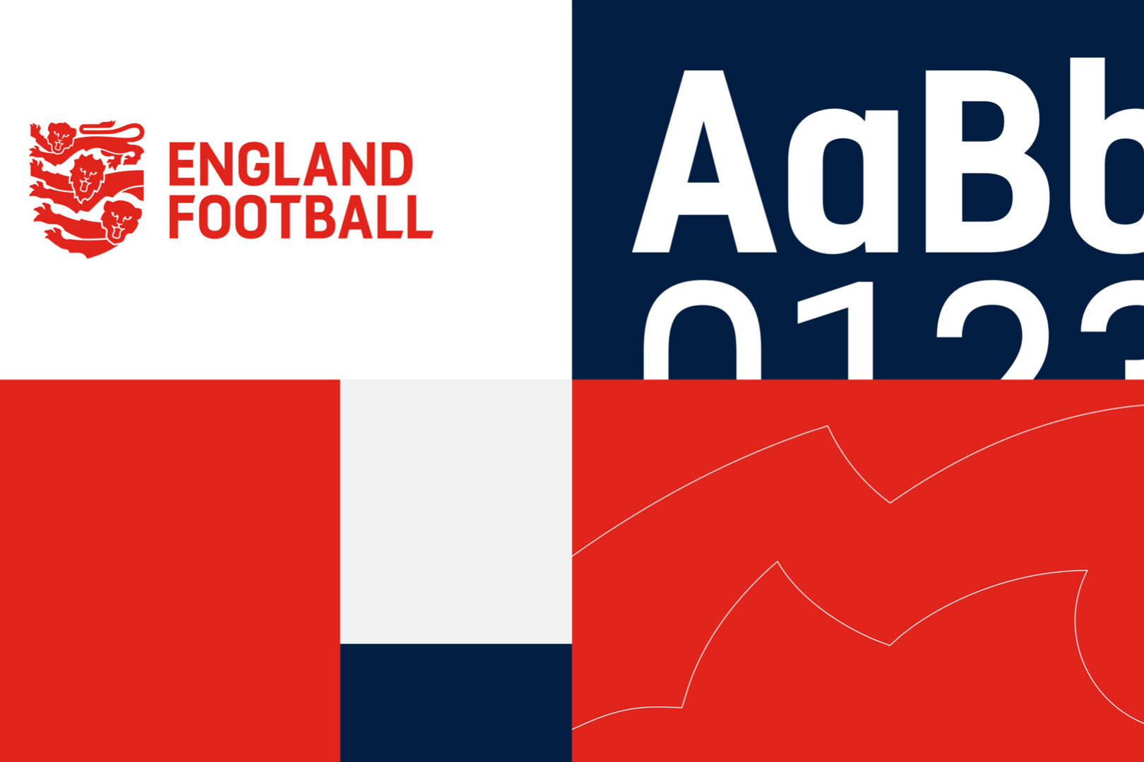 three lions redesign brand style guide