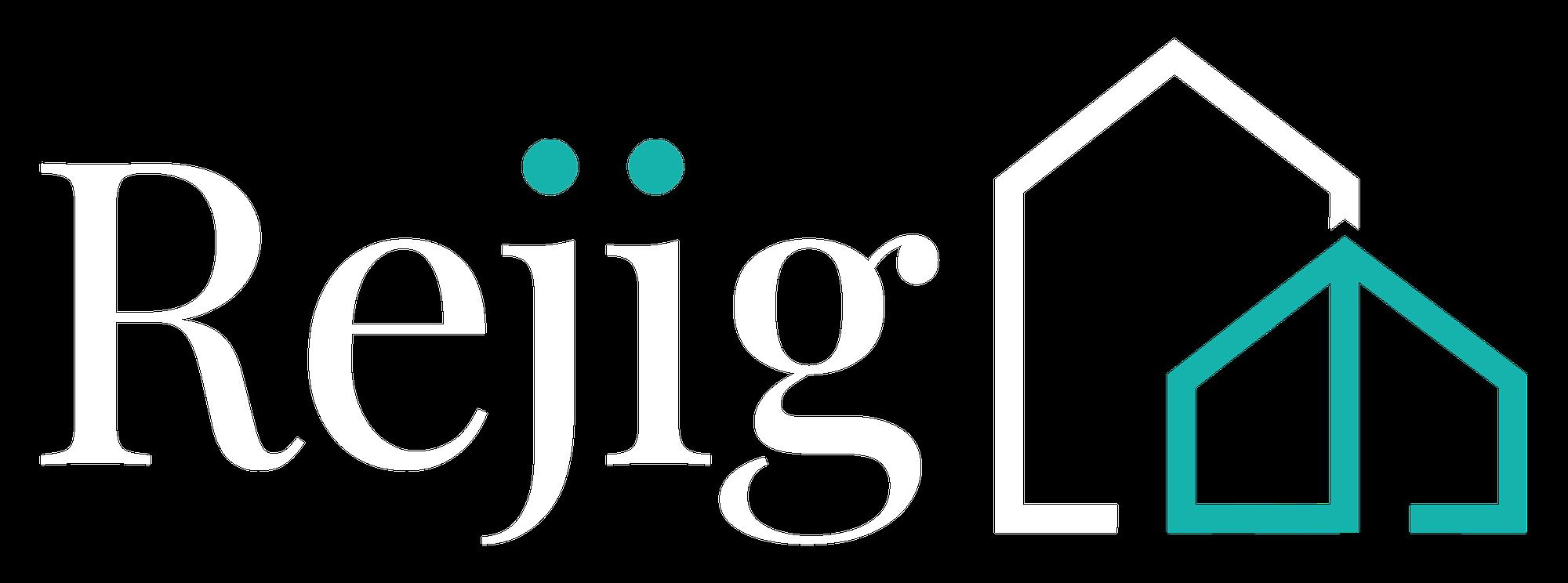 REJIG LOGO WHITE TEAL 1 1
