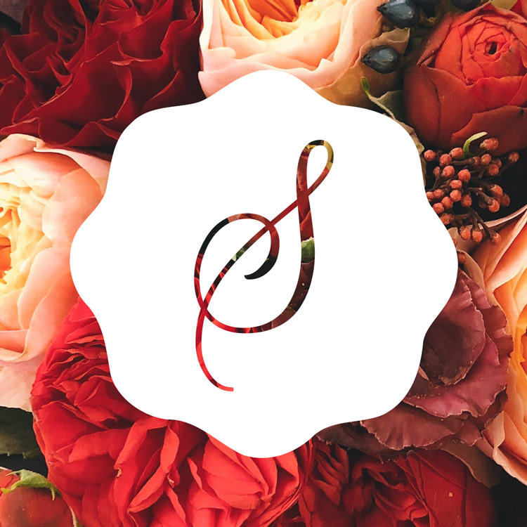 skys house of flowers logo design featured optimised