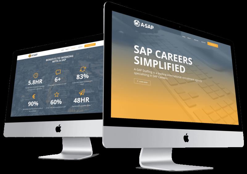 website-computer-mockup-for-recruitment-company